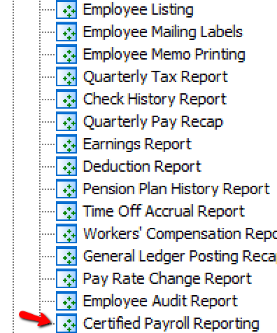 Certified Payroll Reporting