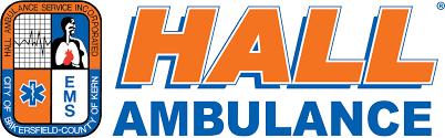 Hall ambulance logo