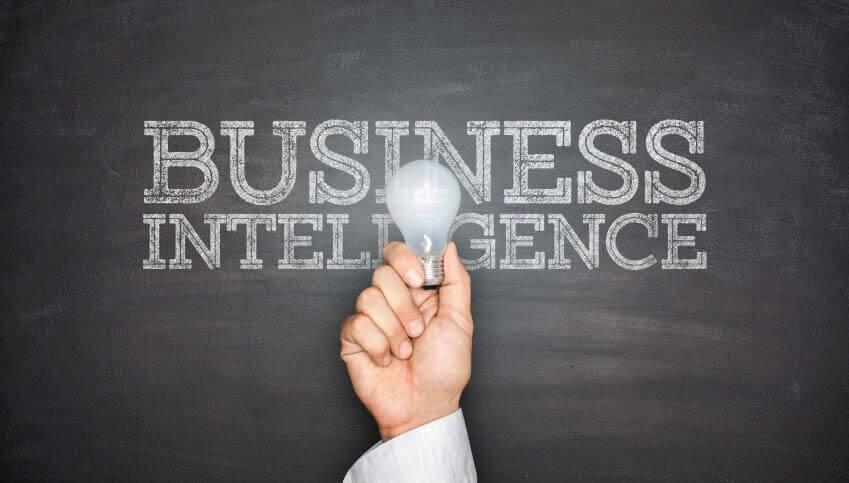 Business Intelligence (BI) Reporting Graphic