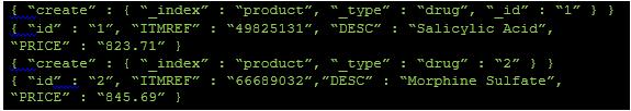 Elasticsearch JSON file