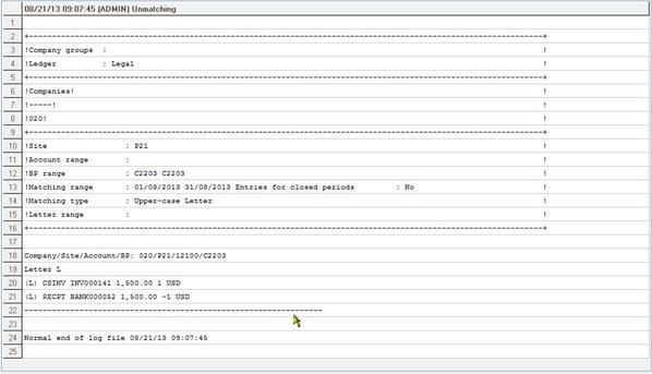 Sage ERP X3 Invoice Balance Incorrect