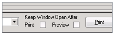 Sage 100 ERP Keep Print Window Open