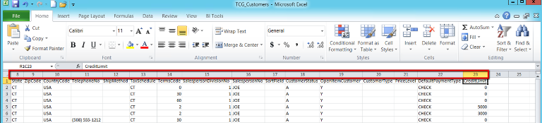 Sage 100 ERP Excel Tips to Assist with Importing Data