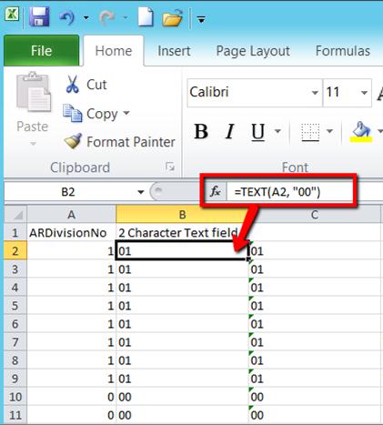 Sage 100 ERP Excel Tips