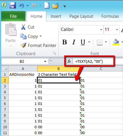 Excel Tips for Sage 100 Data Import Using Visual Integrator
