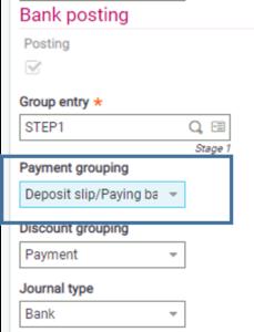 Sage EM Posting Payments