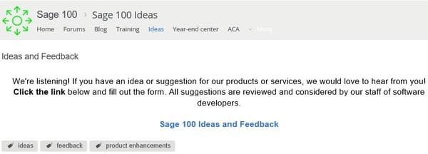 Sage Product Ideas