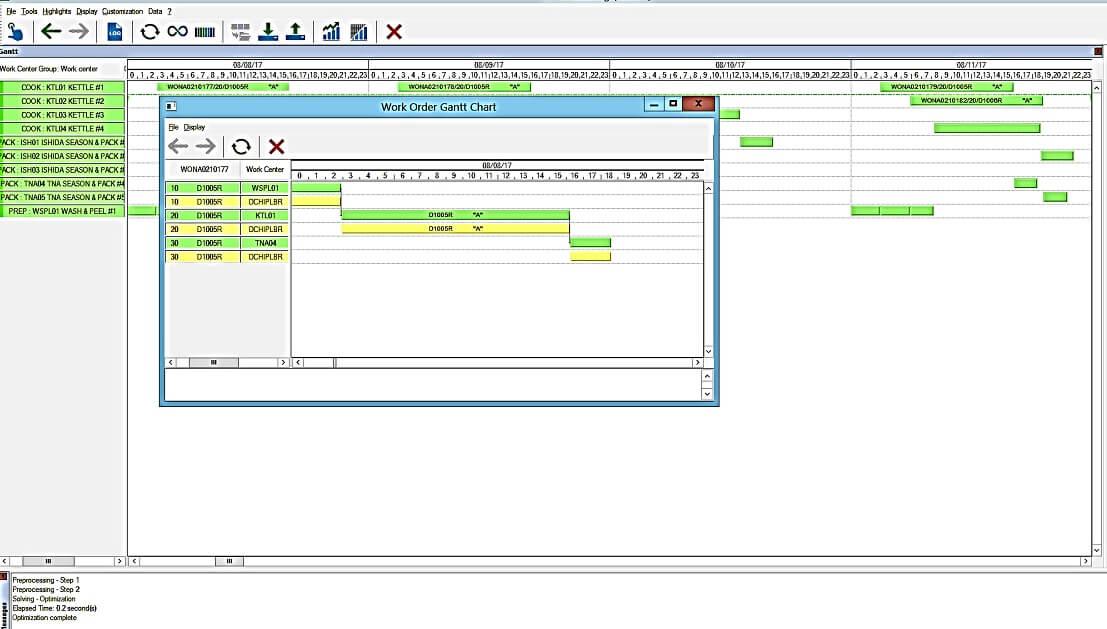 Sage X3 Scheduler
