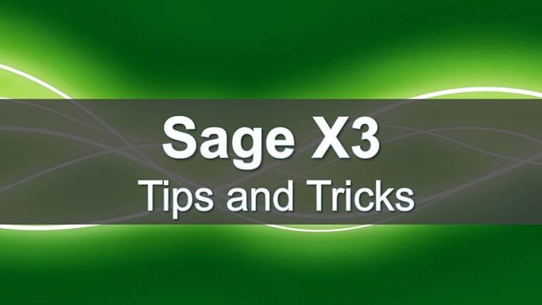 X3 Tips & Tricks