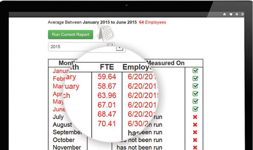 Sage My Workforce Analyzer Screenshot