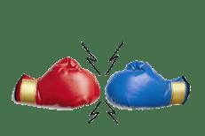 vs boxing gloves