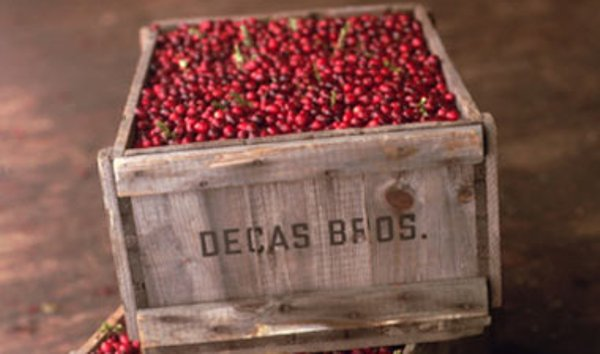 Decas Cranberries Crate