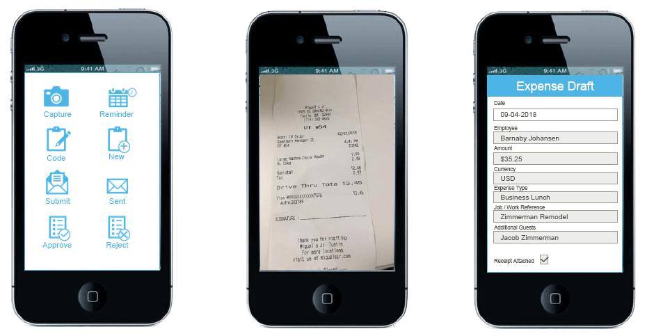 Sage 100 Mobile Expense Management