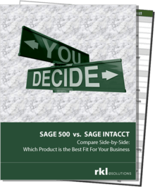 Sage 500 vs Intacct Cover