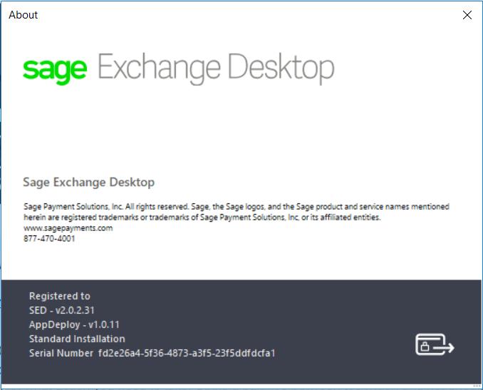 Sage Exchange Desktop