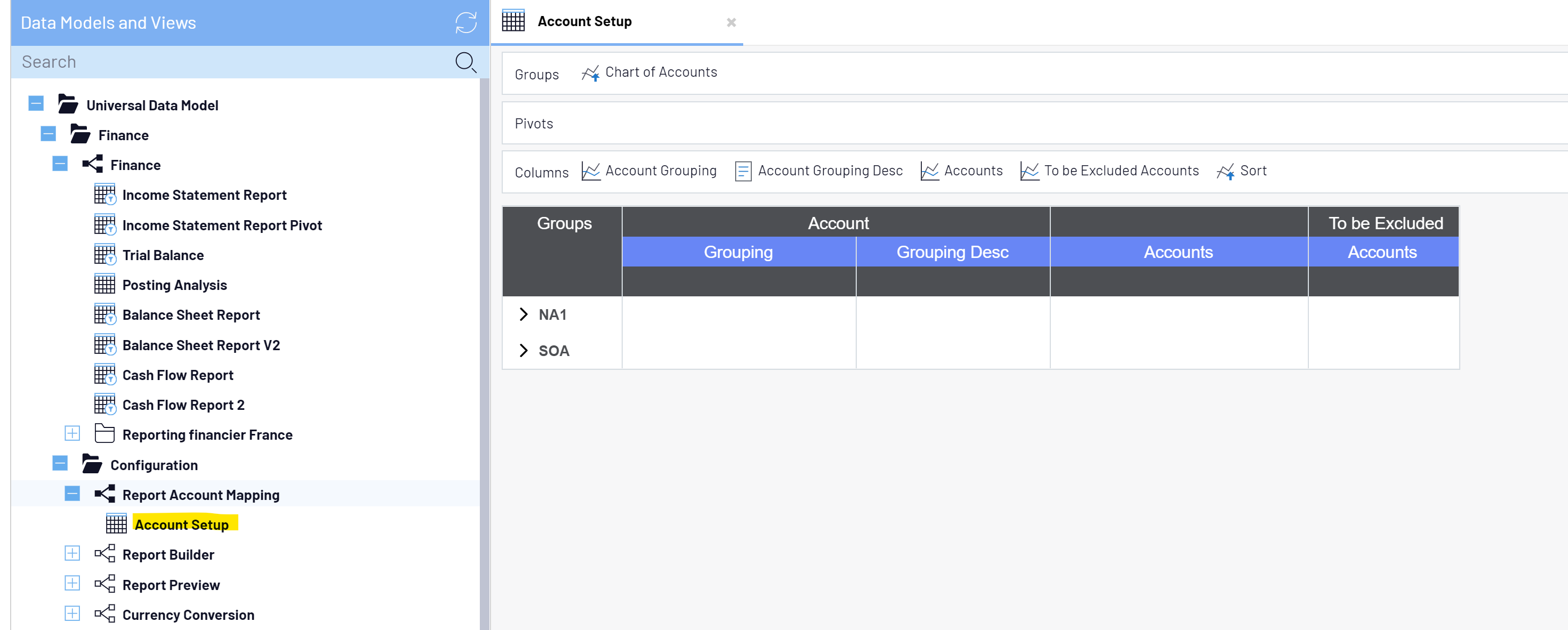 SEI Account Setup worksheet