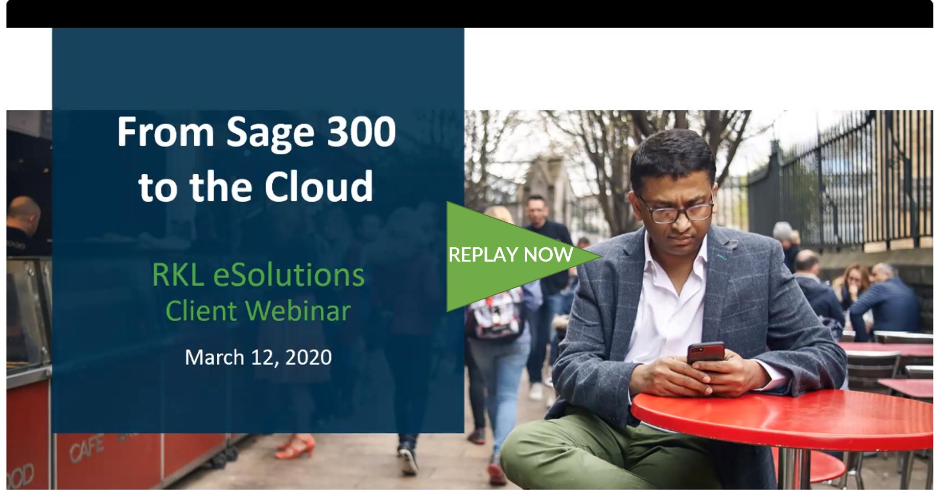 Sage 300 to SI migration Webinar