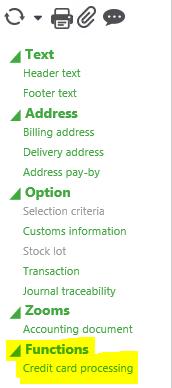 X3 Credit Card Processing Status