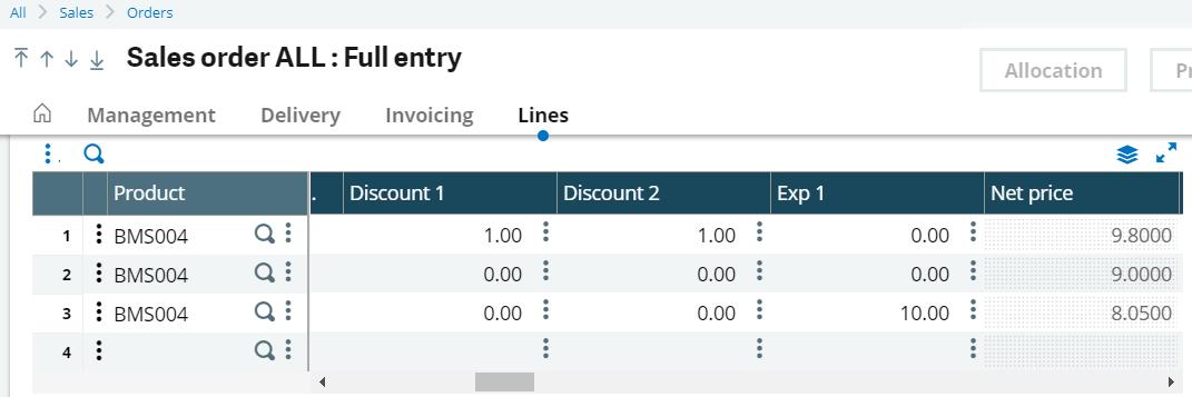 X3 Custom Pricing Discounts
