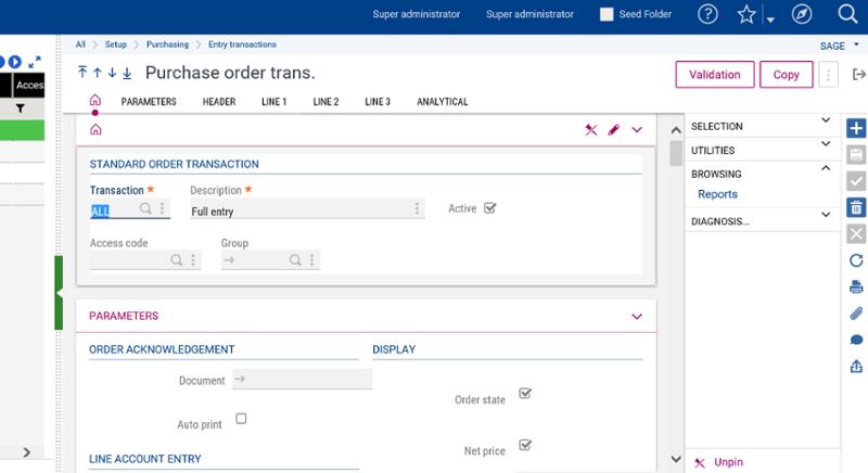 purchase order transaction-1